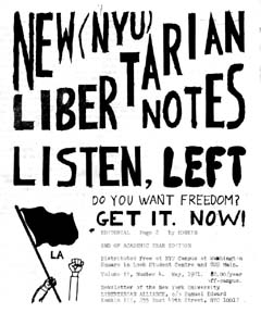 New Libertarian Notes #4 Cover