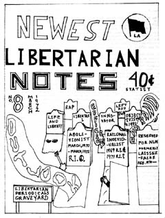 New Libertarian Notes #8 Cover