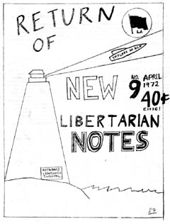 New Libertarian Notes #9 Cover