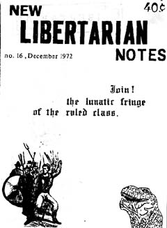New Libertarian Notes #16 Cover