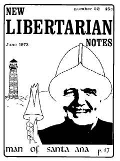 New Libertarian Notes #22 Cover