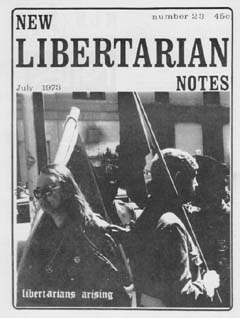 New Libertarian Notes #23 Cover