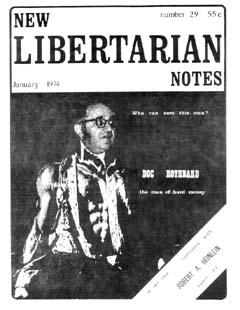 New Libertarian Notes #29 Cover