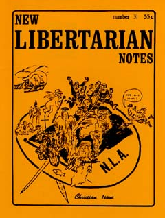 New Libertarian Notes #31 Cover