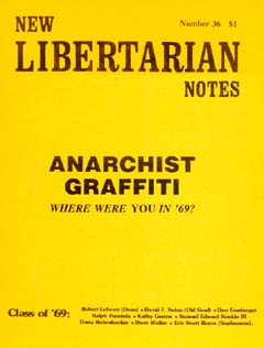 New Libertarian Notes #36 Cover