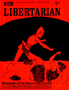 New Libertarian #15 Cover
