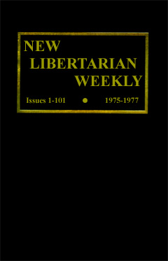 New Libertarian Weekly Hardback Cover