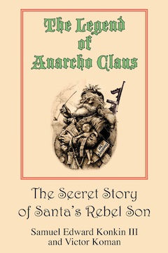 The Legend of Anarcho Claus Cover