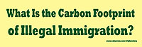 Carbon Footprint of Illegal Immigration